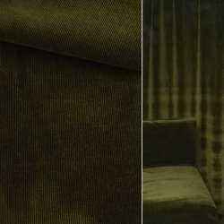 Велюр вискозный мебельный темно зеленый ш.140 оптом