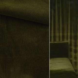 Велюр вискозный мебельный зеленый темный ш.140 оптом