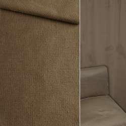 Велюр вискозный мебельный темно-бежевый ш.140 оптом