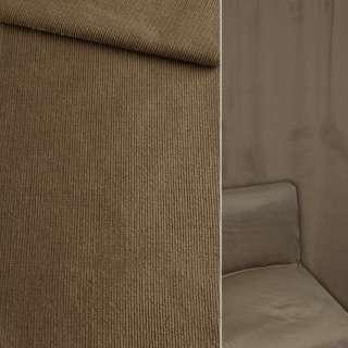Велюр віскозний меблевий темно-бежевий ш.140 оптом