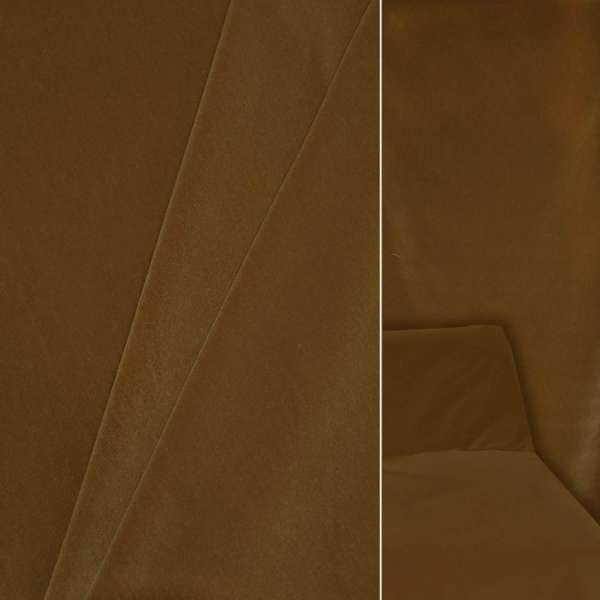 Велюр шерстяной мебельный горчичный ш.140 оптом