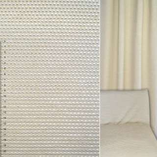 Велюр жаккардовый бежевый светлый в мелкие квадраты ш.140 оптом