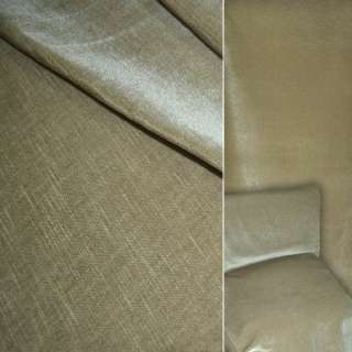 Велюр шерстяной мебельный бежево-оливковый ш.140 оптом
