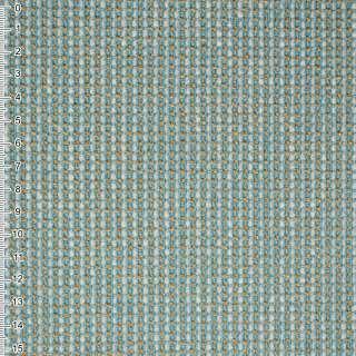 Шенилл бирюзовый с золотой строчкой на ПВХ основе ш.138 оптом