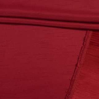 Ультра портьерная бордовая в структурные штрихи, ш.150 оптом