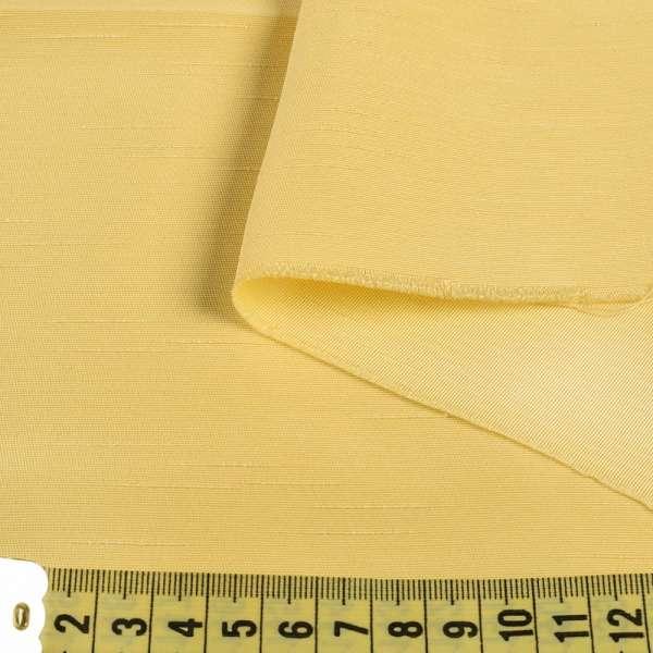 Ультра портьерная желтая в структурные штрихи, ш.150 оптом