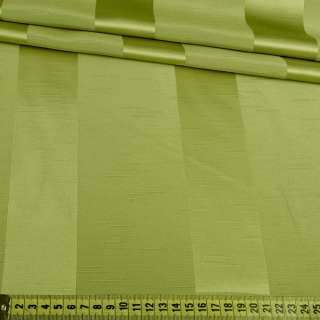 Ультра портьерная зеленая широкая полоска в структурные штрихи, ш.150 оптом