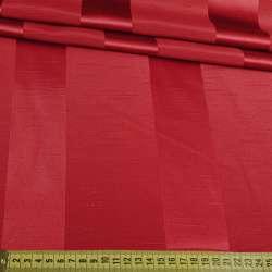 Ультра портьерная бордовая широкая полоска в структурные штрихи, ш.150 оптом