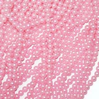 бусина нежно-розовая оптом