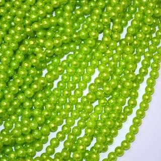 бусина зеленая оптом