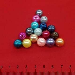 бусина в ассорт. диам.1,1 см. оптом