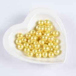 Бусина жемчуг желтая 12мм (цена за 1г) оптом