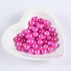 Бусина жемчуг розовая 12мм (цена за 1г) оптом