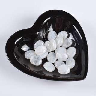 Бусина акрил белая 15х20мм (цена за 1г) оптом