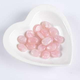 Бусина акриловая мрамор розовая 15х20мм (цена за 1г) оптом