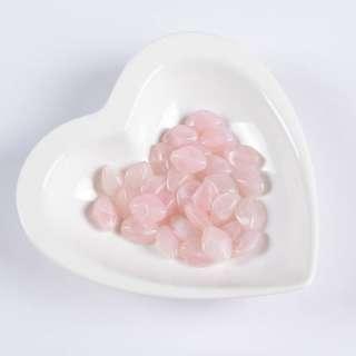 Бусина акрил розовая 13х16мм (цена за 1г) оптом