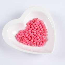 Бусина граненая розовая 6мм (цена за 1г) оптом