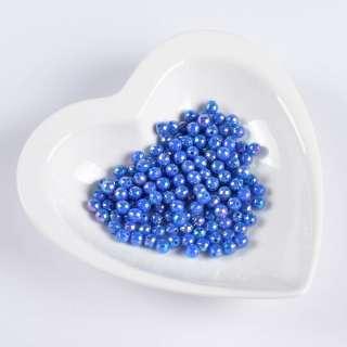 Бусина гранована синя 6мм (ціна за 1 г) оптом