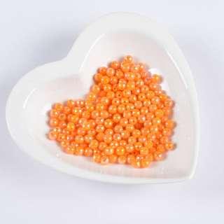 Бусина гранована помаранчева 6мм (ціна за 1 г) оптом