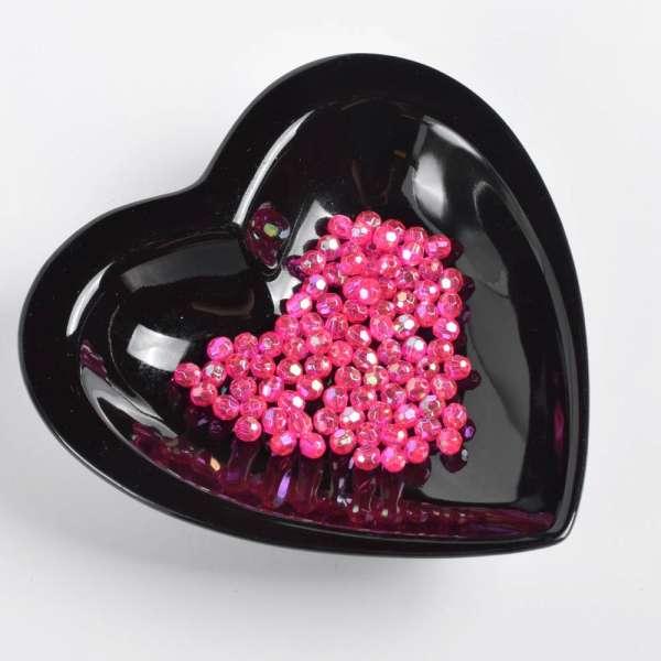 Бусина под хрусталь розовая 6мм (цена за 1г) оптом