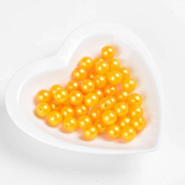 Бусина под жемчуг желтая 12мм (цена за1г) оптом