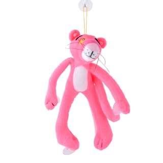 Мягкая игрушка на присосках 22 см Розовая пантера оптом