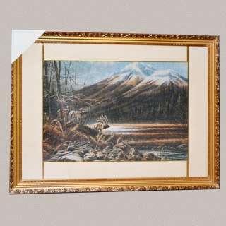 картина гобелен гори олені оптом