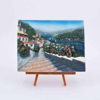 Картина настольная объемная на мольберте 18 х 22 см Дорога к морю оптом