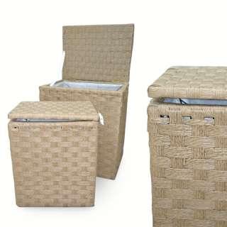 Набор корзин плетеные для белья 2 шт. 45х35х53 см, 35х27х44 см оптом