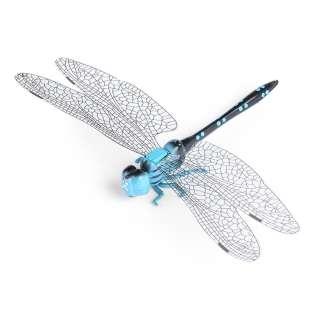 Магнит декоративный Стрекозы 13х9 см голубо-черная оптом