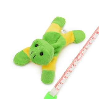Магнит декоративный мягкая игрушка 9х5х3 см лягушка зелено-желтая оптом