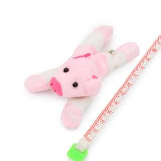 Магнит декоративный мягкая игрушка 9х5х3 см поросенок розовый оптом