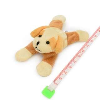 Магнит декоративный мягкая игрушка 9х5х3 см собачка бежевая оптом