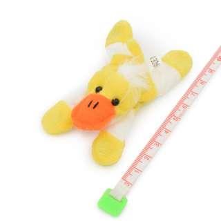 Магнит декоративный мягкая игрушка 9х5х3 см уточка желтая оптом