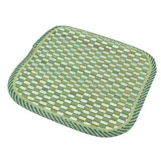 Подставка под горячее бамбуковая соломка квадратная 17х17 см шахматка салатовая оптом