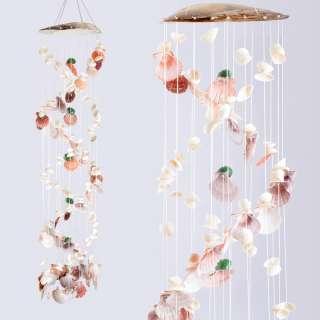 Музыка ветра подвеска из натуральных ракушек 100 см оптом