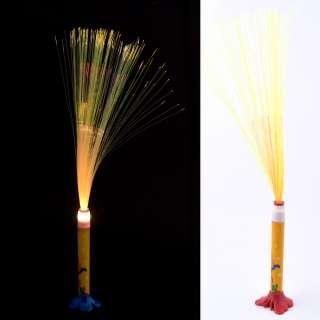 Ночник светильник на батарейках Фейерверк 40 см желтый с собачкой оптом