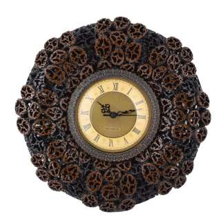 Часы настенные под ореховый срез 30х30х4,5 см оптом
