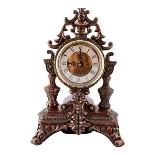Часы настольные каминные корона 31х21х15 см под бронзу оптом