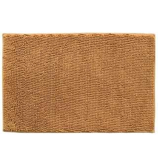 Коврик для ванной микрофибра прорезиненная основа 50х80 см бежевый оптом