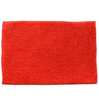 Коврик для ванной микрофибра прорезиненная основа 40х60 см красный оптом