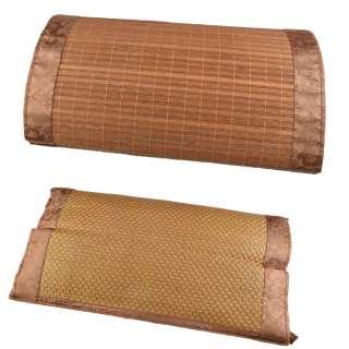 Подушка антистресс с травами 30х50 см из ротанговой пальмы и бамбука оптом