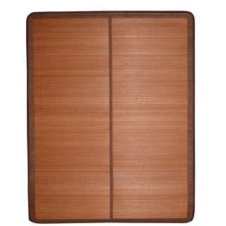 Покрывало циновка бамбук 150х195 см раскладное не лакированное коричневое оптом