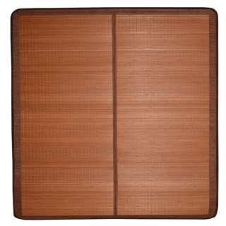 Покрывало циновка бамбук 180х195 см раскладное не лакированное коричневое оптом