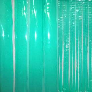 Дверна шторка силіконова 0,2 90х198 см зелена оптом