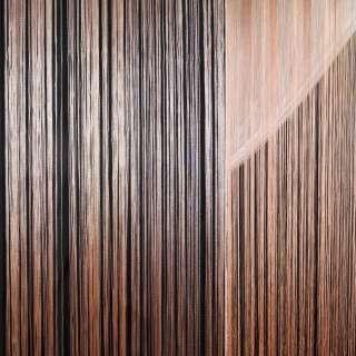 Штора ниткова 300 х 290 см персикова світла (вага 0,865 кг) оптом