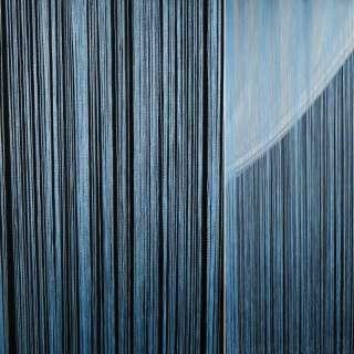 Штора ниткова 300 х 290 см блакитна (вага 0,865 кг) оптом