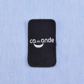 Аппликация COMANDE черная, 45х30мм оптом