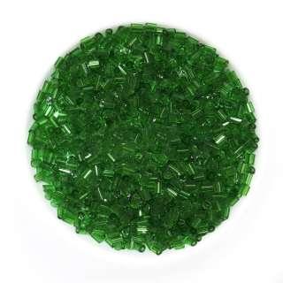 Бісер зелений темний оптом