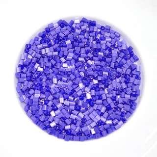 бисер фиолетовый оптом